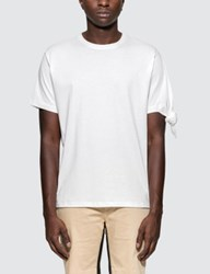 J.W.Anderson Jw Anderson White Single Knot S S T Shirt