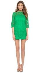 4.Collective Aztec Lace Flared Sleeve Shift Dress