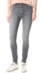 Hudson Ciara High Rise Exposed Button Jeans Face Off