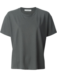 Zanone Boxy Fit T Shirt Grey