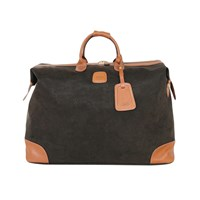 Bric's Life Holdall Olive Tan
