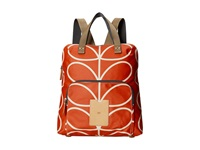 Orla Kiely Backpack Tote Vermillion Backpack Bags Red