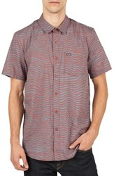 Volcom Men's Vibe Daze Cotton Blend Woven Shirt