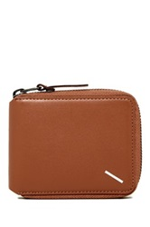 Saturdays Surf Nyc Scott Full Zip Leather Wallet