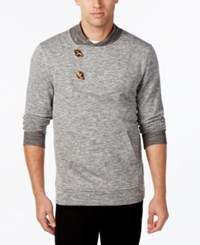 Retrofit Men's French Terry Toggle Sweater Heather Grey