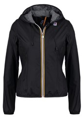 K Way Kway Summer Jacket Black