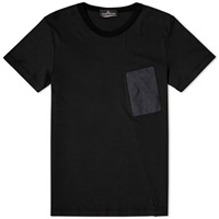 Stone Island Shadow Project Nylon Pocket Tee Black