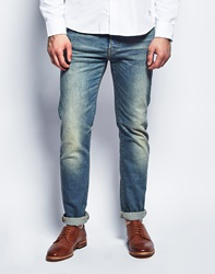 Edwin Ed80 12.5Oz Sonic Light Washed Slim Tapered Jean