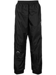 A Cold Wall Logo Track Trousers Black