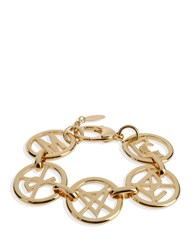Moschino Couture Bracelets Gold