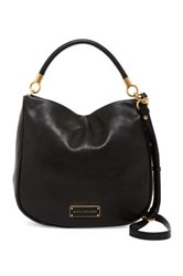 Marc By Marc Jacobs Too Hot To Handle Leather Hobo Black