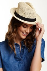 14Th And Union Banded Paper Fedora Black