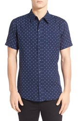 Men's Imperial Motion 'Doubles' Print Short Sleeve Woven Shirt