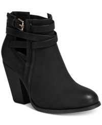 Call It Spring Magliaro Cutout Booties Women's Shoes Black