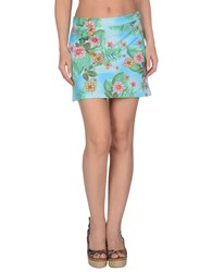 Miss Naory Skirts Mini Skirts Women Azure