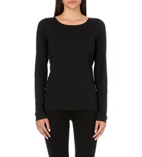 Wolford Jersey Pullover Top Black