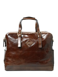 The Bridge Hand Painted Leather Briefcase