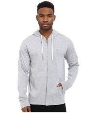 Matix Clothing Company World Zip Knit Grey Heather Men's Clothing Gray