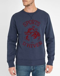 Hartford Navy Winter Sports Sweatshirt