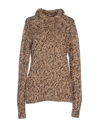 Kangra Cashmere Turtlenecks Camel
