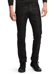 Ralph Lauren Moto Novelty Stretch Tailored Jeans Black