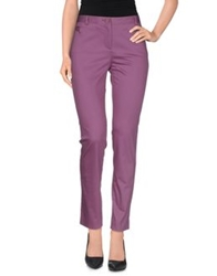 Harmont And Blaine Casual Pants Purple