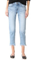 Joe's Jeans Smith Mid Rise Straight Ankle Light Blue