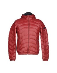 Gas Jeans Gas Down Jackets Brick Red