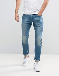 Esprit Relaxed Slim Fit Jeans Light Blue