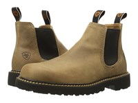 Ariat Spothog Prairie Sand Men's Work Pull On Boots Yellow