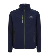 Hackett Aston Martin Hooded Racing Jacket Male Navy