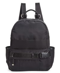 Calvin Klein Dressy Nylon Backpack Black