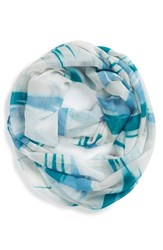 Women's Nordstrom 'Painterly Camo' Infinity Scarf