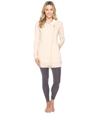 Ugg Kayla Quilted Hoodie Oatmeal Heather Women's Sweatshirt Beige