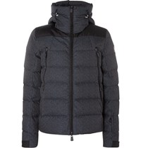 Moncler Grenoble Quilted Shell Down Jacket Navy