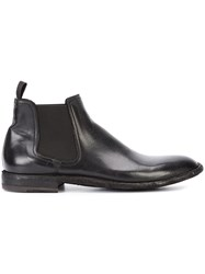 Officine Creative Standard Boots Men Buffalo Leather Calf Leather 41.5 Black