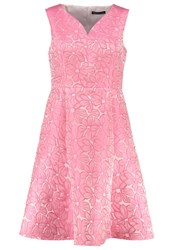 Swing Curve Cocktail Dress Party Dress Ivory Coral Off White