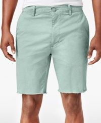 American Rag Men's Stretch Chino Shorts Only At Macy's Green Dust