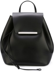 Nao21 Thin Strap Backpack Black