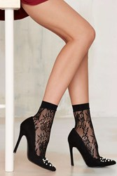 Nasty Gal Mona Lace Ankle Socks
