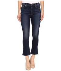 Hudson Harper High Rise Crop Baby Kick Flare In Corps Corps Women's Jeans Blue