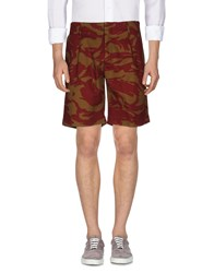 Marc By Marc Jacobs Bermudas Brick Red