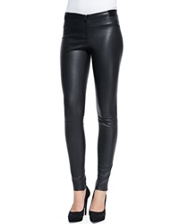 Alice Olivia Lamb Leather Leggings