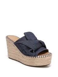 Franco Sarto Talinda2 Denim Wedge Espadrilles