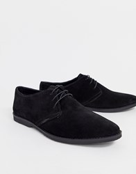 Pier One Lace Up Shoes In Black Suede
