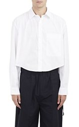 Craig Green Elongated Back Crop Shirt White