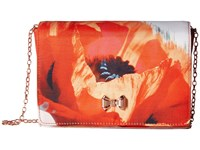 Ted Baker Poppei Mid Red Clutch Handbags