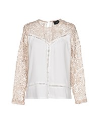 Goldie London Blouses Ivory