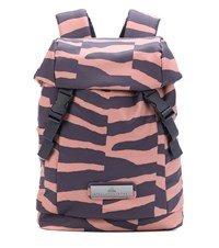 Adidas By Stella Mccartney Striped Backpack Multicoloured