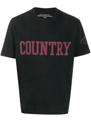 Telfar Country Print T Shirt Black